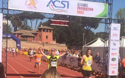 Gabriele e la sua Appia run