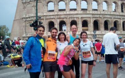 Maratona di Roma: emozioni sotto la pioggia