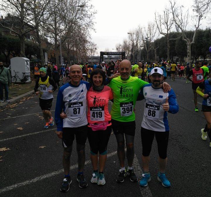 Anche la mitica Valeria alla Terni Half Marathon!!!