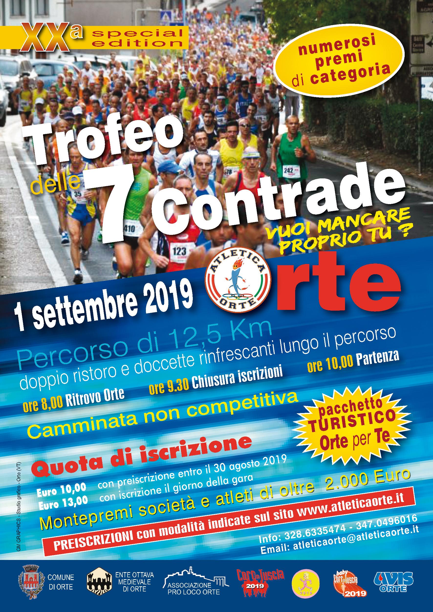 Calendario Delle Prossime Gare Di Podismo.Atletica Orte Associazione Sportivo Dilettantistica