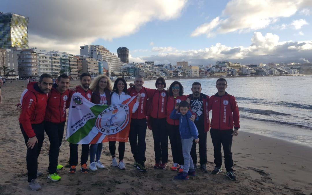 L'Atletica Orte atterra a Gran Canaria