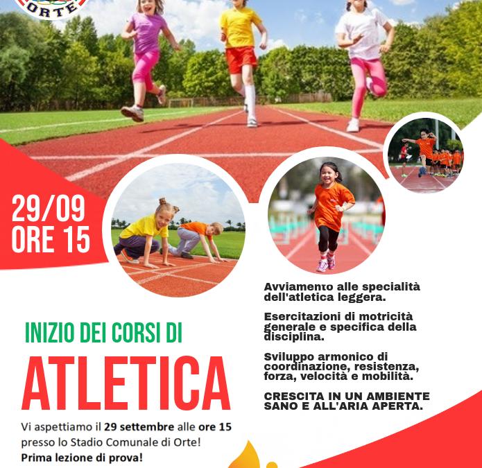 Corsi di Atletica – Buona la prima, aspettiamo i ragazzi e le ragazze da 11 a 16 anni